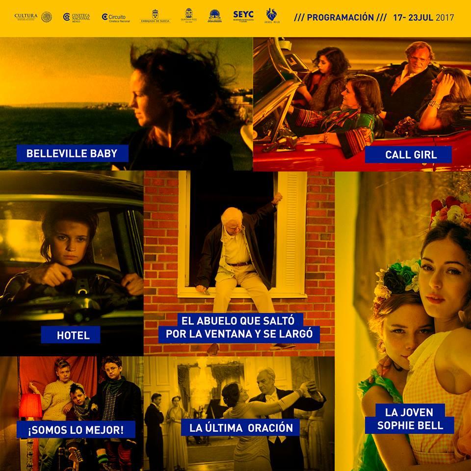 Semana de cine sueco en #Chetumal @ julio 17 al 23