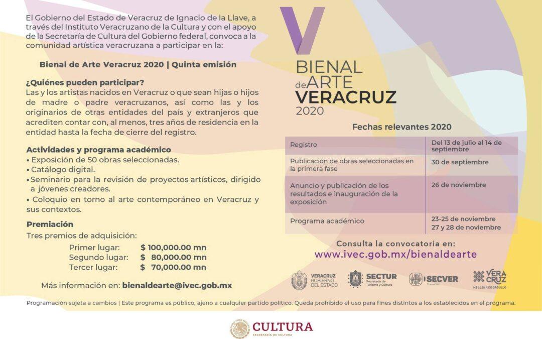 Participa en la Bienal de Arte Veracruz 2020 | Quinta emisión