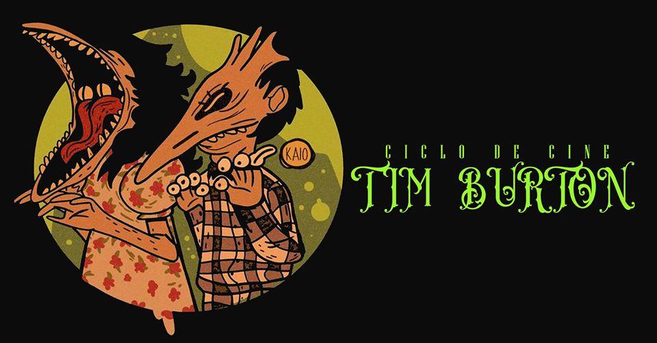 Tim Burton en el Centro Histórico #CicloDeCine